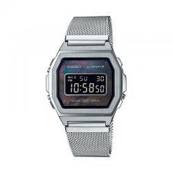 Reloj Casio Vintage Premium Nacar Armis Milanesa A1000M-1BEF