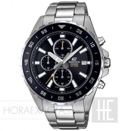 Reloj Casio Edifice Negro Armis Crono EFR-568D-1AVUEF