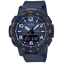Reloj Casio Pro Trek Analógico Digital Azul Bluetooth® PRT-B50-2ER