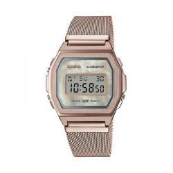 Reloj Casio Vintage Premium Nacar Armis Oro Amarillo A1000MCG-9EF