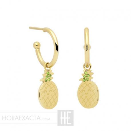 Joyería Mr Wonderful. Pendientes Tropical Party WJ10101