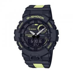 Reloj Casio G-Shock Analógico Digital Negro Amarillo Bluetooth GBA-800LU-1A1ER