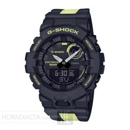 Reloj Casio G-Shock Analógico Digital Negro Amarillo Bluetooth GBA-800LU-1A1ER