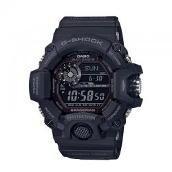 Reloj Casio G-Shock Range Man Digital Triple Sensor All Black. GW-9400-1BER