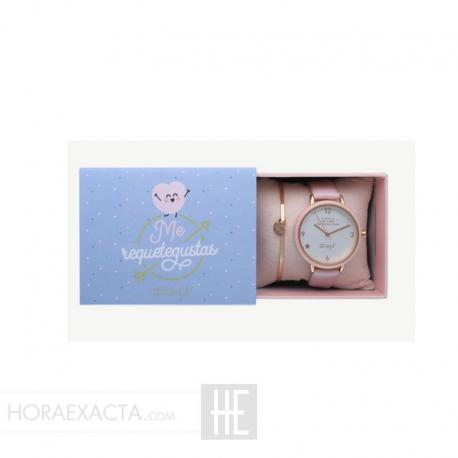 Reloj Y Pulsera MR. WONDERFUL COMBO WR20100+WJ30201