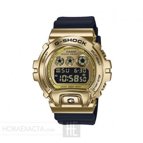 Reloj Casio G-Shock GM-6900G-9ER 25 Aniversario Dorado Negro