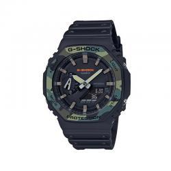 Reloj Casio G-Shock Analógico Digital Negro Camu GA-2100SU-1AER