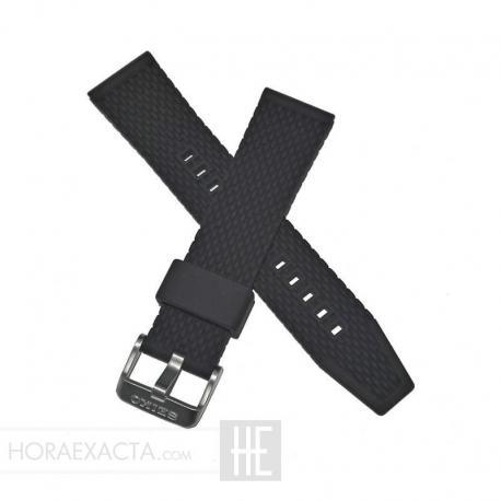 Correa Seiko silicona negro Seiko 5 R045011J0