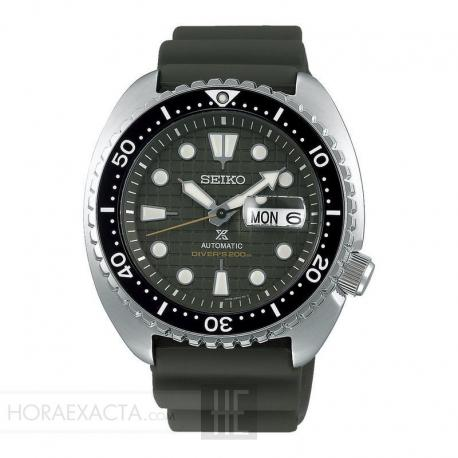 "Reloj Seiko Prospex ""Tortuga"" King Turtle Verde SRPE05K1"