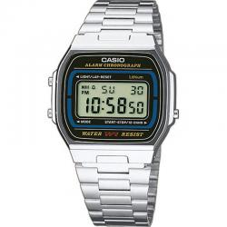 Reloj Casio Collection Digital Armis Acero Negro A164WA-1VES