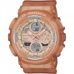 Reloj Casio G-Shock Marrón Claro Transparente Analógico Digital GMA-S140NC-5A1ER