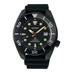 """Reloj Seiko Prospex """"Sumo"""" Black Series Caucho SPB125J1"""
