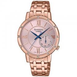 Reloj Casio Sheen PVD Oro Rosa Armis Swarovski . SHE-3046PG-4AUER