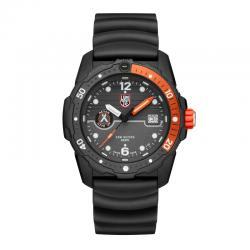 Reloj Luminox Bear Grylls Solo hora negro naranja. 3729