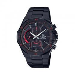 Reloj Casio Edifice PVD Crono Negro Rojo Solar EFS-S560DC-1AVUEF