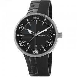 Reloj Momo Design Jet Inox Negro