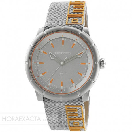 Reloj Momo Design Jet II Gris Naranja