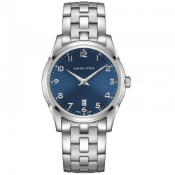 Reloj Hamilton Thinline Cuarzo Armis Azul