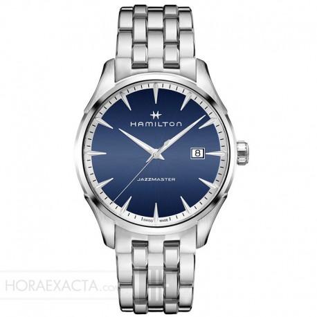Gent Cuarzo Reloj Hamilton Azul Armis Jazzmaster 4LSqcAj35R