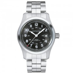 Reloj Hamilton Khaki Field Auto Negro Armis