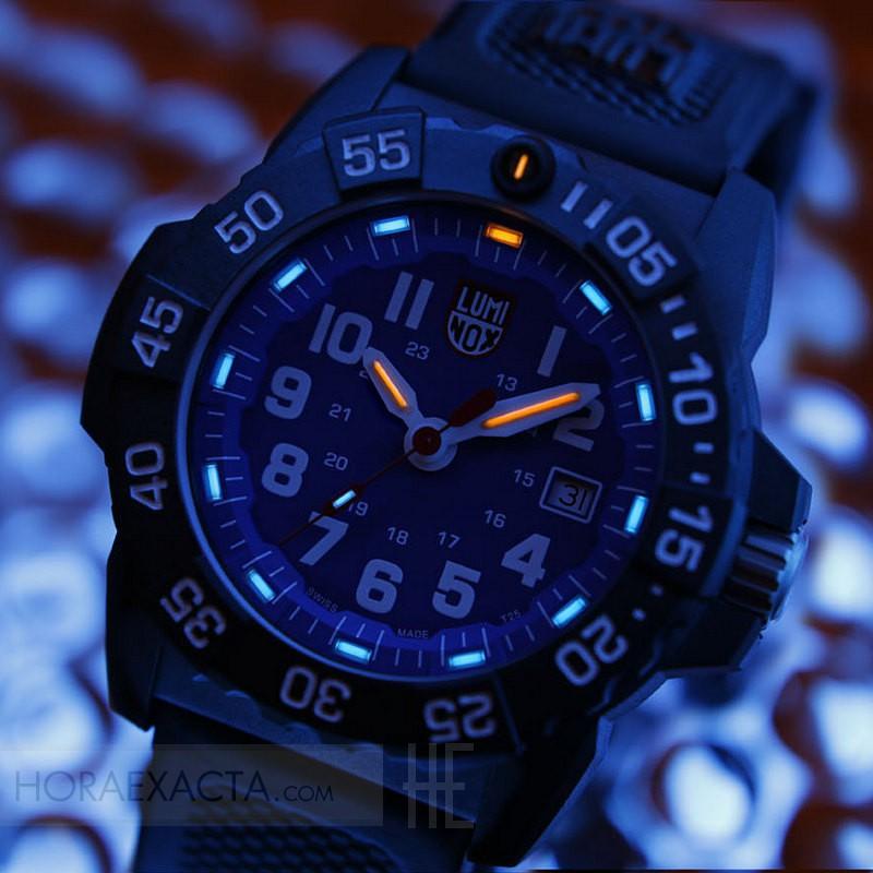 la mejor actitud 0b1c4 ecac6 Reloj Luminox Navy Seal Azul Silicona Negra 45 mm. Precio ...