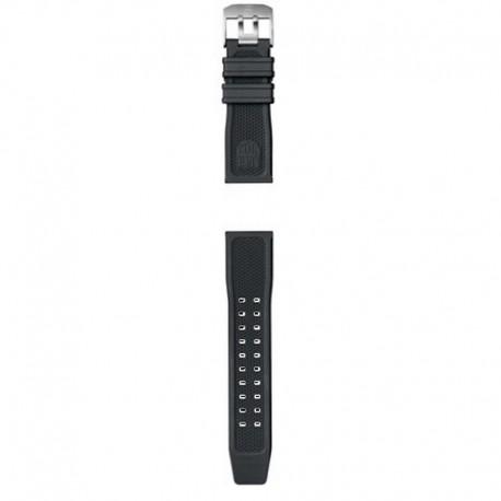 Correa Luminox Caucho negro 24 mm 3500 Series.