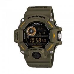 Reloj Casio G-Shock Digital Triple Sensor Verde Militar. GW-9400-3ER