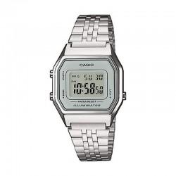 Reloj Casio Básico Digital Gris Armis Acero Mediano LA680WEA-7EF