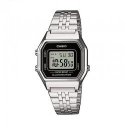 Reloj Casio Básico Digital Negro Armis Acero Mediano LA680WEA-1EF