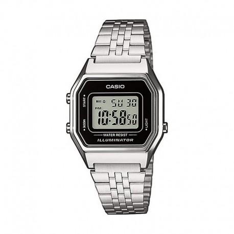 Mediano Armis 1ef La680wea Acero Negro Digital Reloj Casio Collection eWYEDIH29