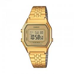 Reloj Casio Básico Digital Dorado Armis Mediano LA680WEGA-9ER