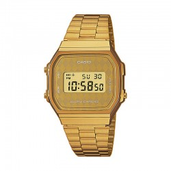 Reloj Casio Collection Digital Armis All Golden Grande A168WG-9BWEF