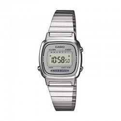 Reloj Casio Collection Digital Armis Gris Pequeño LA670WEA-7EF