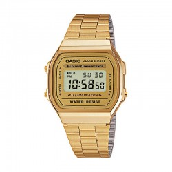 Reloj Casio Collection Digital Armis Golden Grande A168WG-9EF
