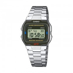 Reloj Casio Collection Digital Armis Acero Negro A163WA-1QES