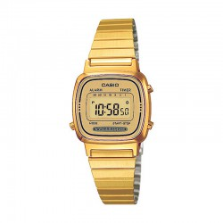 Reloj Casio Collection Digital Armis All Golden Pequeño LA670WEGA-9EF