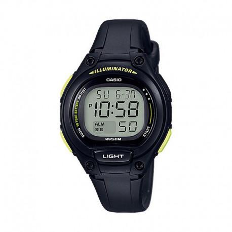 Reloj Casio Digital Silicona Negro Pistacho LW-203-1BVEF